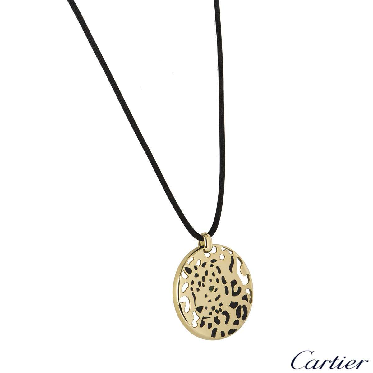 Cartier Yellow Gold Panthere Necklace